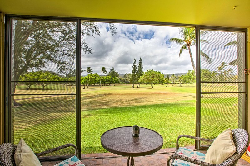 Make the most of your Hawaii escape at this 1-bed, 1-bath condo!