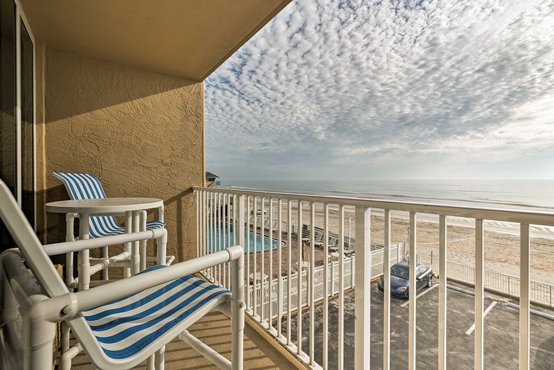 Daytona Beach is just steps from this ideally located vacation rental studio!