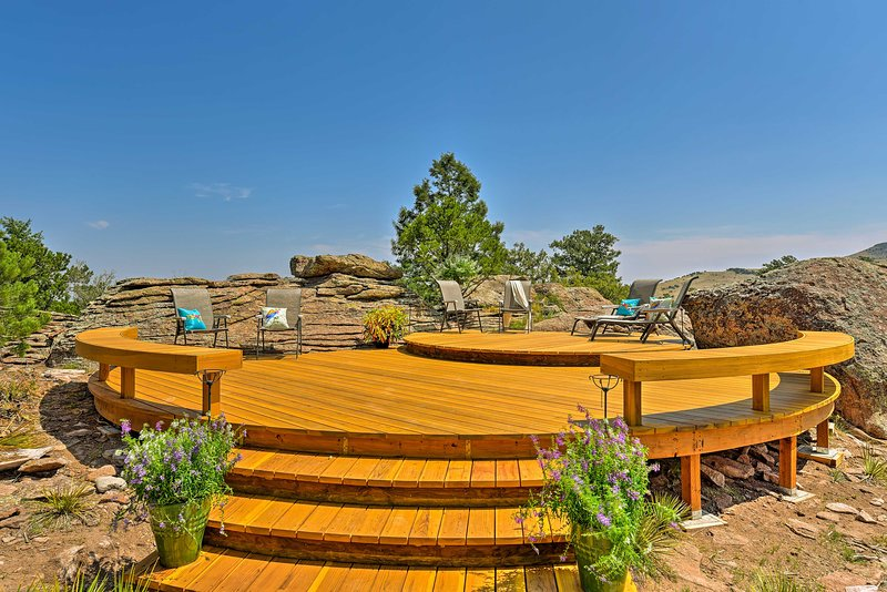 Look forward to exploring the BLM and National Forest Land surrounding the home.