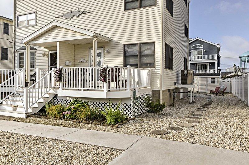 ¡Su casa en una ubicación central de Sea Isle City es la base perfecta para sus vacaciones!