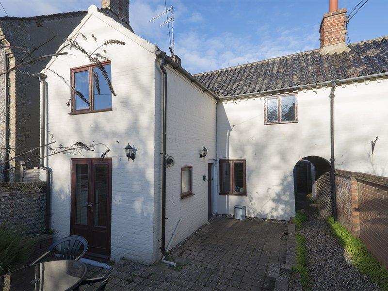 Traditional cottage in popular coastal village