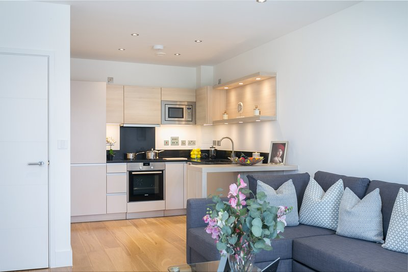 Stunning one bedroom flat with balcony in an amazing location, holiday rental in Acton