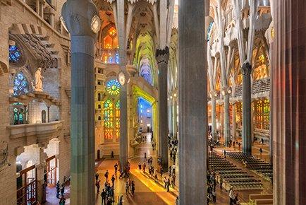Sagrada Familia Intérieur (Barcelone)