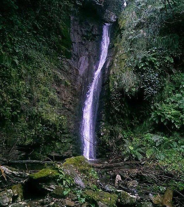 waterfalls of Bocca di Cane