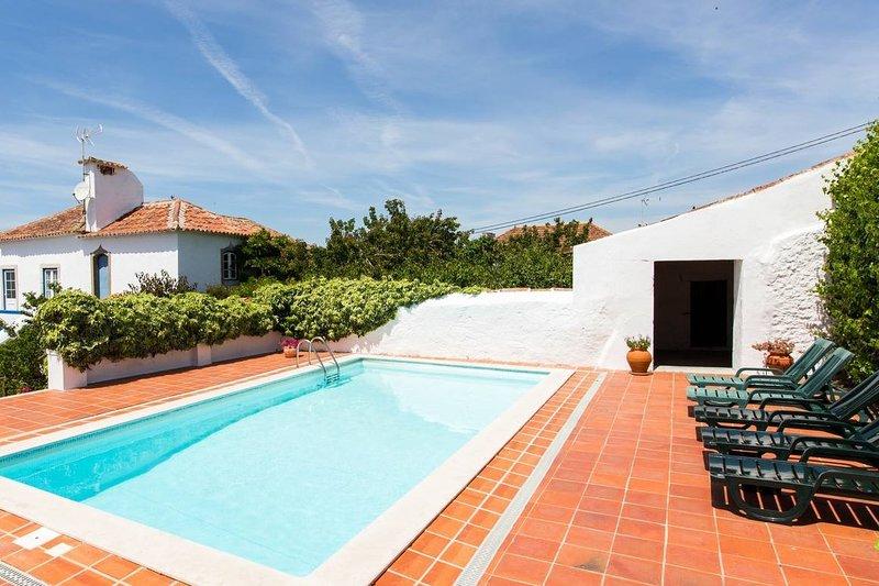 Sobral Óbidos Villa - Pool and Garden, vacation rental in Obidos