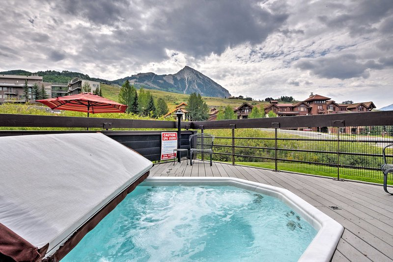 Experience the splendors of Crested Butte at this vacation rental condo!