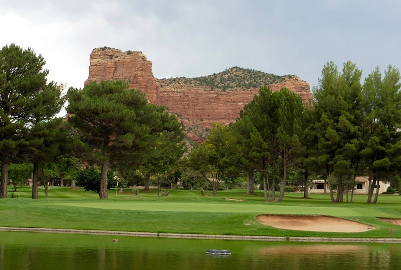 Exemple de parcours de golf Red Rocks Around