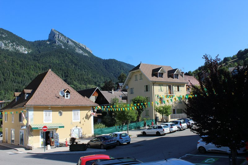 Nice apt with mountain view, holiday rental in La Sure en Chartreuse