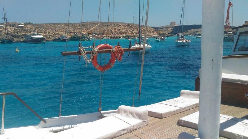Liveaboard & Diving Safari at Sicily, Malta, Tunisia, holiday rental in Nubia