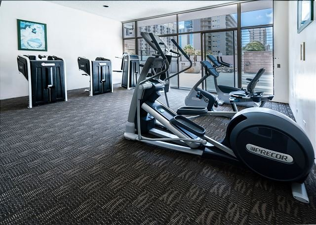 Fitness Room on the 7th Floor