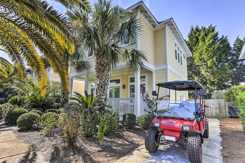 New Santa Rosa Beach House Wbikes Deck Grill Updated 2019