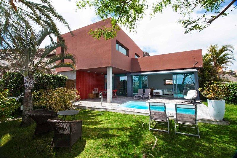 Villa with private pool Salobre Villas Tabaibas I, vacation rental in Montana La Data