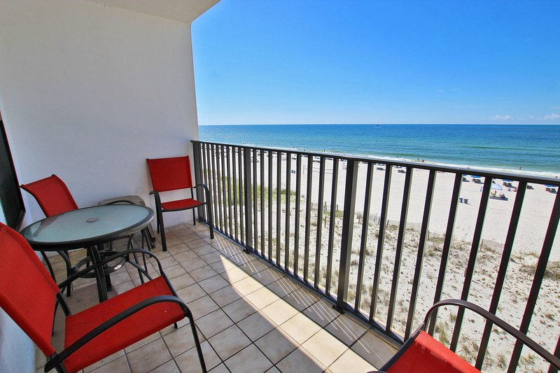 4th Floor Gulf Front Balcony