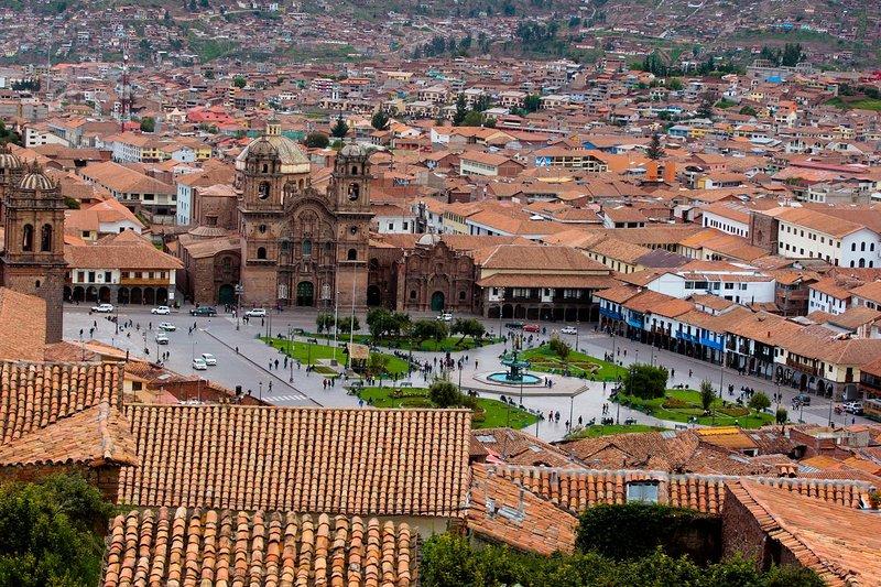 VIEW OF THE CUSCO PERU