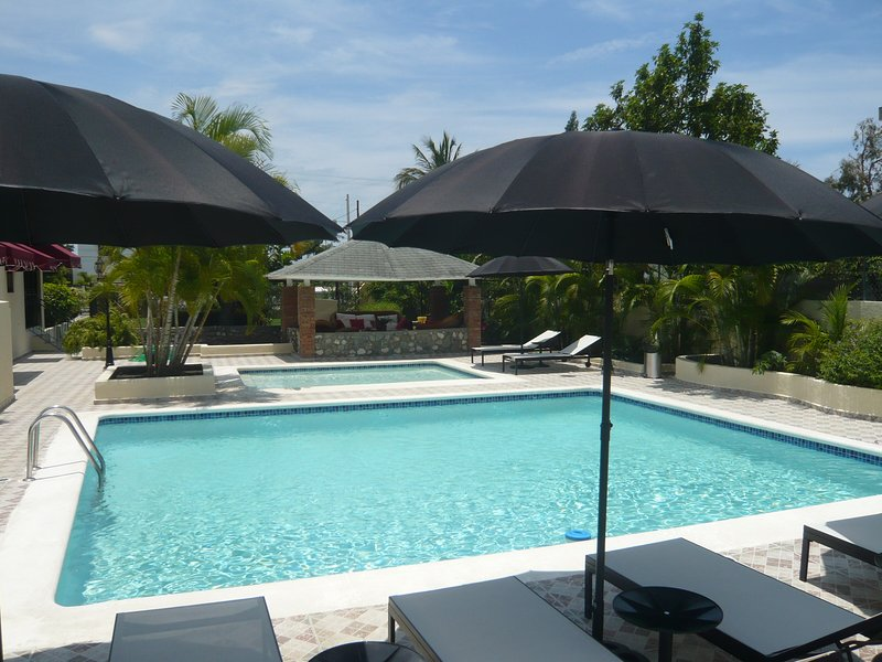 Villa Los Almendros - 2 private pools ,private tennis court and playground, holiday rental in Bani