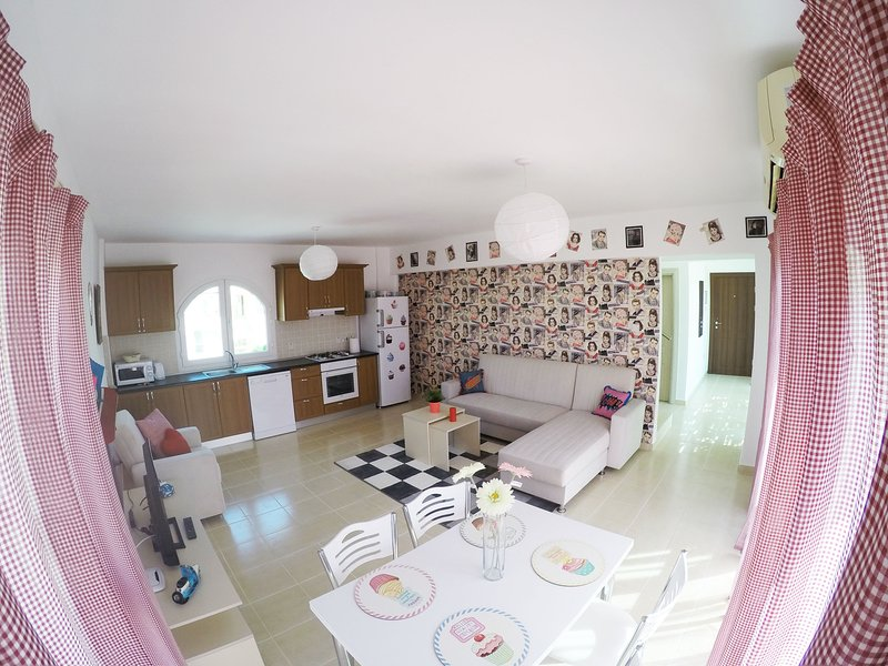 North Cyprus Beachfront Penthouse Apartment  7-6, vacation rental in Lefke
