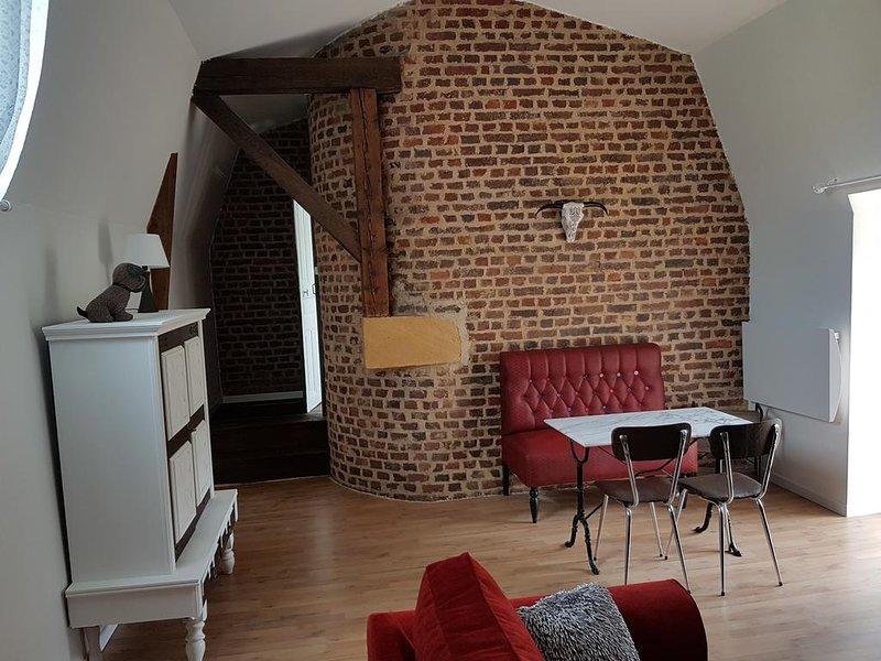 Appartement 3 pieces, alquiler vacacional en Bazeilles