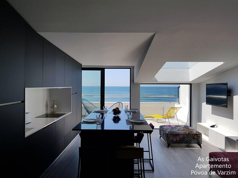 Appartement avec vue, vacation rental in Povoa de Varzim