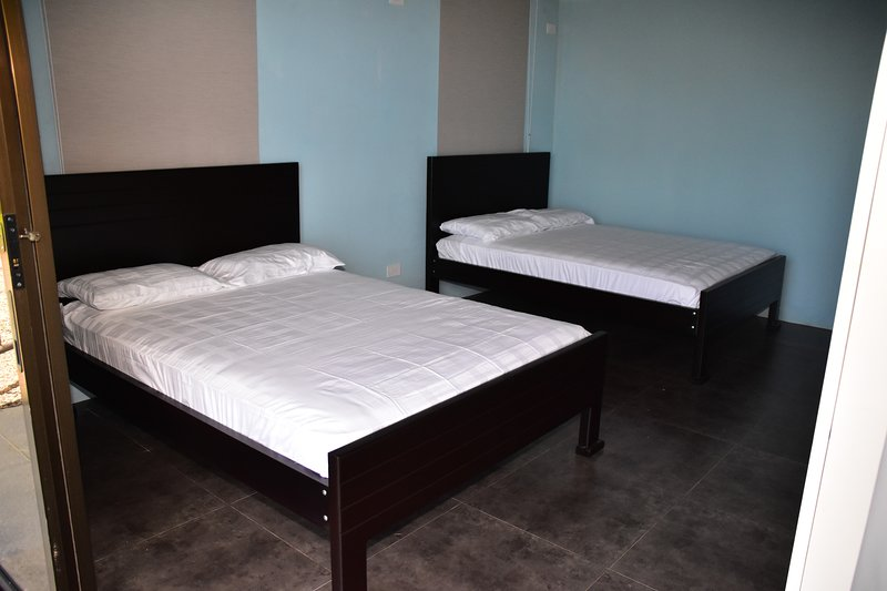 Bedroom 3 with 2 full-size beds