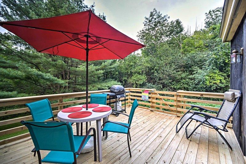 Trek je terug in Jiminy Peak Resort voor een ontspannend verblijf in Hancock!