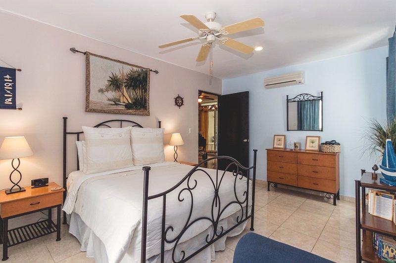 Master Bedroom with Queen Bed and En Suite Bathroom