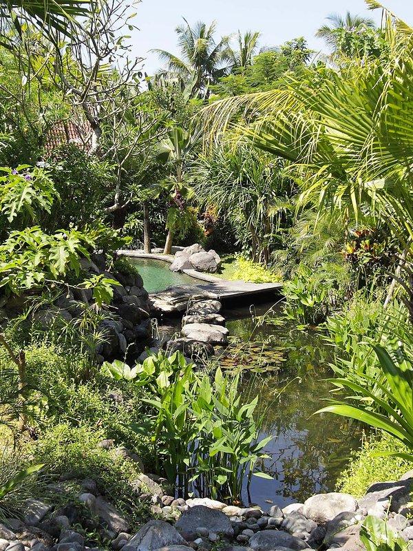 Villa Radha - Private stream