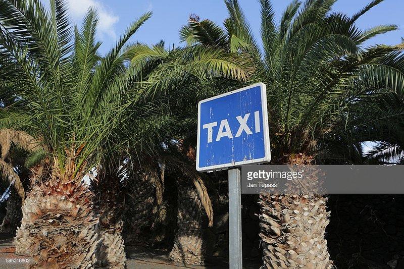 LOcal (few minutes walk) taxi rank