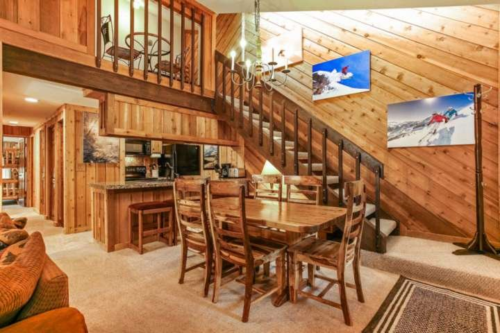 Welcome to your home away from home! The open floor plan allows everyone to be together.