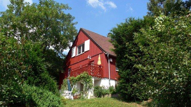 Rote Perle im hohenlohischen Bartenstein, holiday rental in Kirchberg an der Jagst