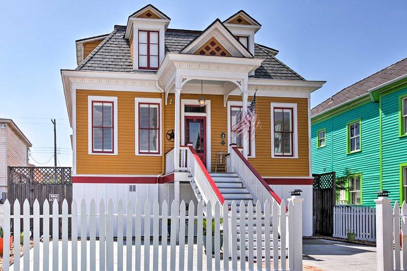 ¡La casa ha sobrevivido a todos los huracanes importantes que han afectado la zona!