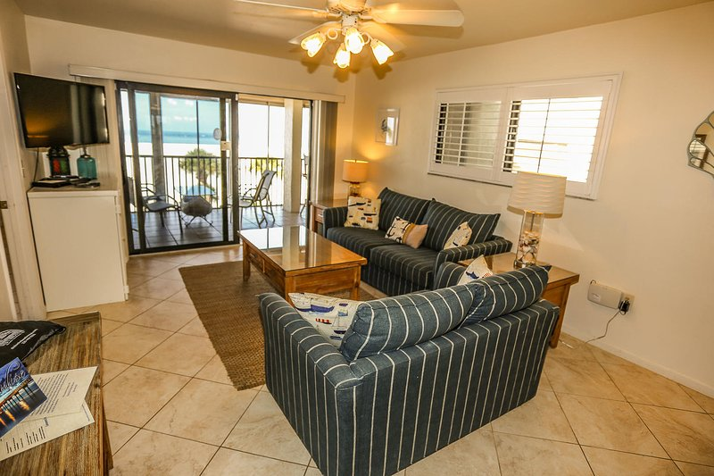 Welcome to Carlos Pointe 316.  Let this be your peaceful, relaxing, beachfront, vacation rental in Survey Creek