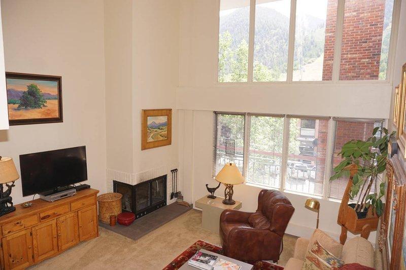 Vista de las laderas de la sala de estar