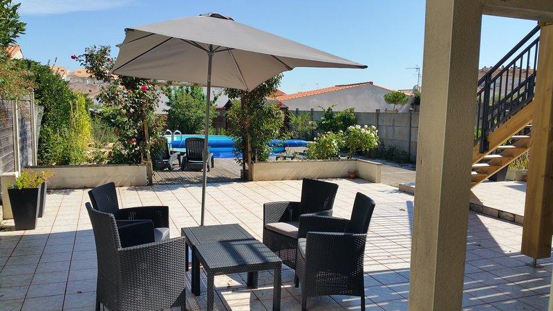 La Chaumette - 2 Pièces avec piscine au calme, proche du centre-ville, alquiler de vacaciones en Les Sables-d'Olonne