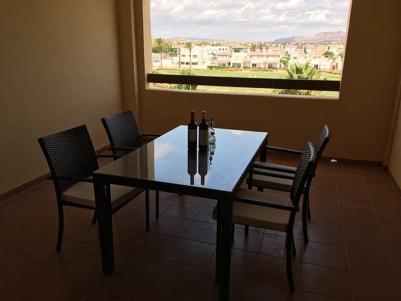 Modern 2 bed apartment Mar Menor Golf Resort - Ideal for Golfers, aluguéis de temporada em Torre-Pacheco