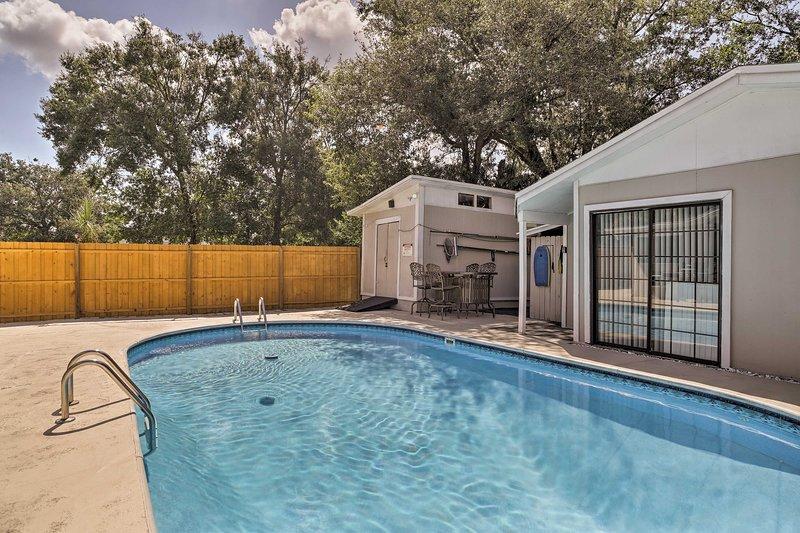 Kom en verblijf in dit 1-bed, 1-bad Fern Park vakantieverhuur gastenhuis.