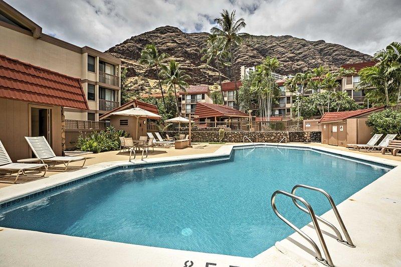 Seu oásis havaiano privado aguarda neste aluguer de férias Waianae.