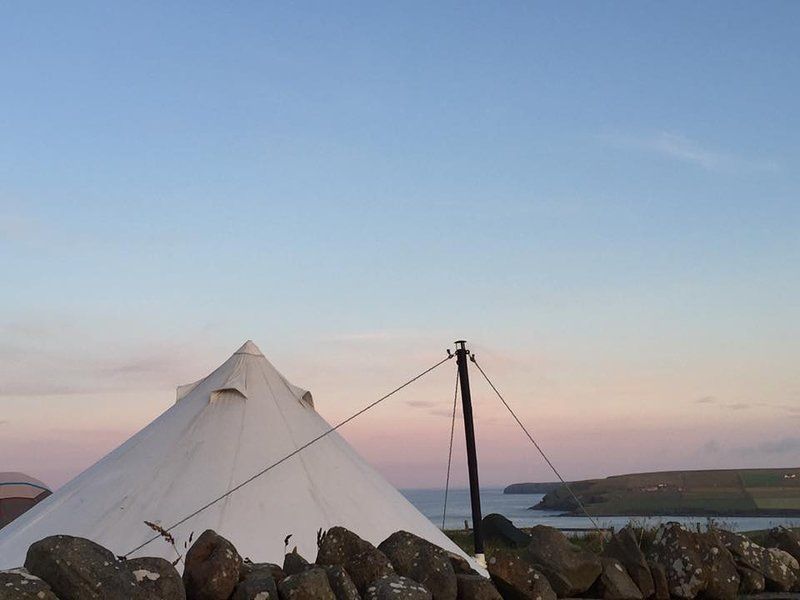 Bell Tent Buttercup, Ferienwohnung in South Ronaldsay