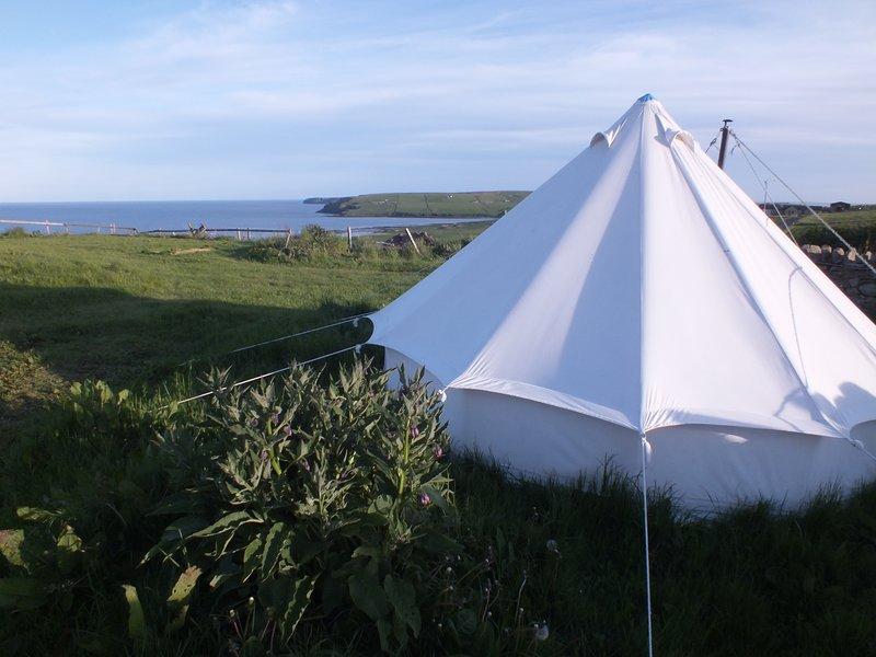 Bell Tent Dandelion, Ferienwohnung in South Ronaldsay