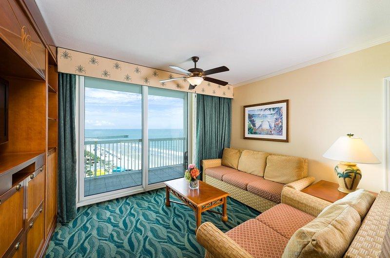 Westgate Myrtle Beach com um quarto Deluxe Oceanview