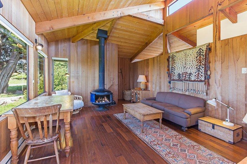 Lucero - Wohnzimmer mit Kamin