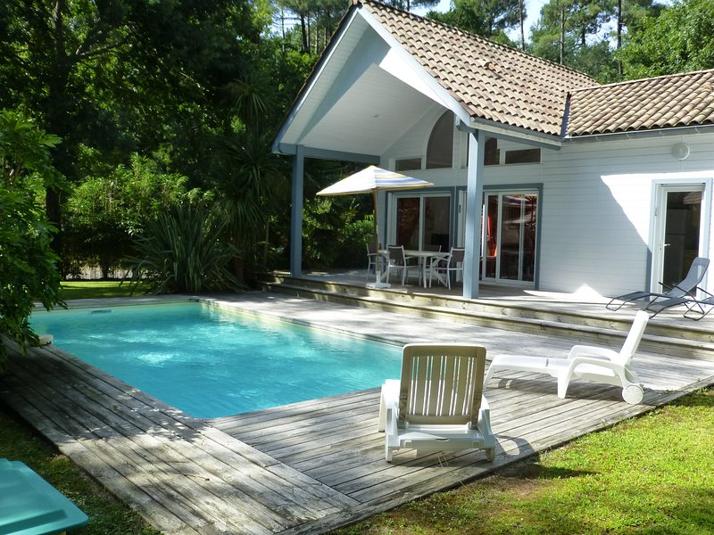 Pool and terrace view