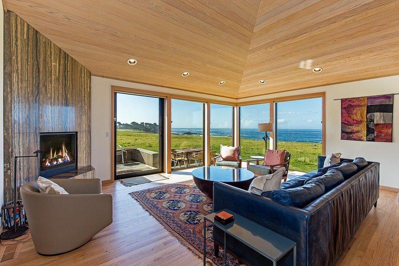 Kyuka - Wohnzimmer mit Meerblick