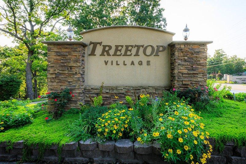 Entrance to Treetop Village