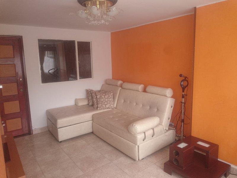 APARTAMENTO AMOBLADO EN EXCELENTE SECTOR DE BOGOTA, holiday rental in Tena