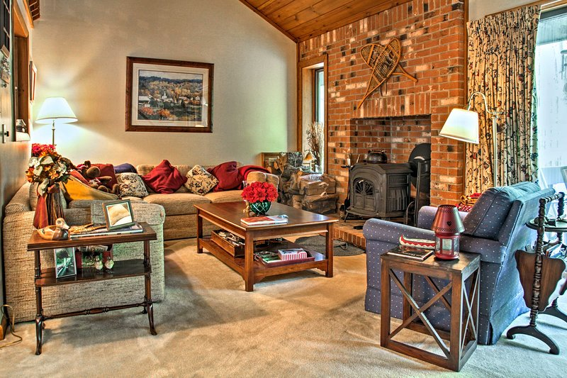 Welcome to your North Conway vacation rental townhouse!