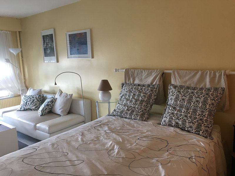 Sunny and Spacious Appartment, 44 sqm, Great View, Wifi, Tv,, holiday rental in Gentilly