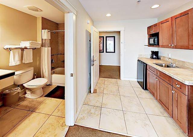 Badezimmer / Kochnische