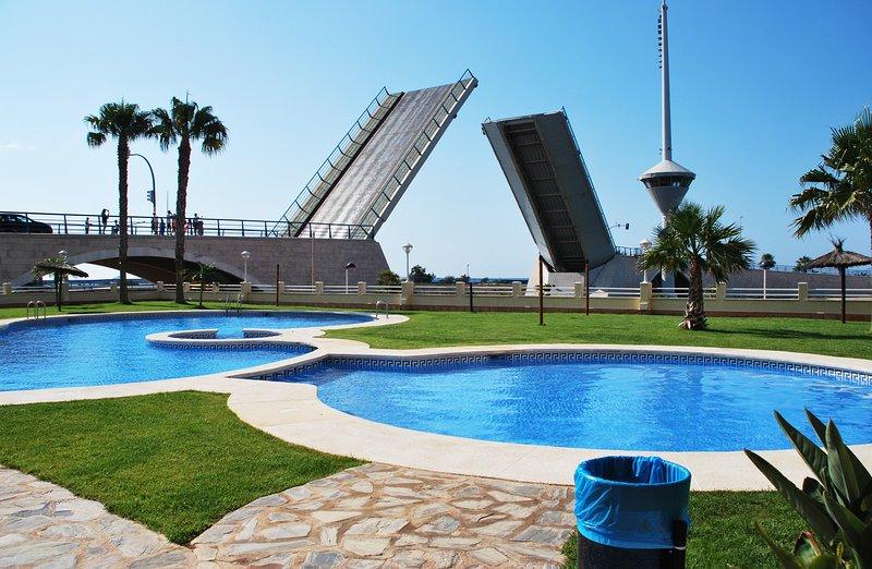 Un paraíso en Murcia. Apartamento ideal, para parejas con niños., Ferienwohnung in San Javier