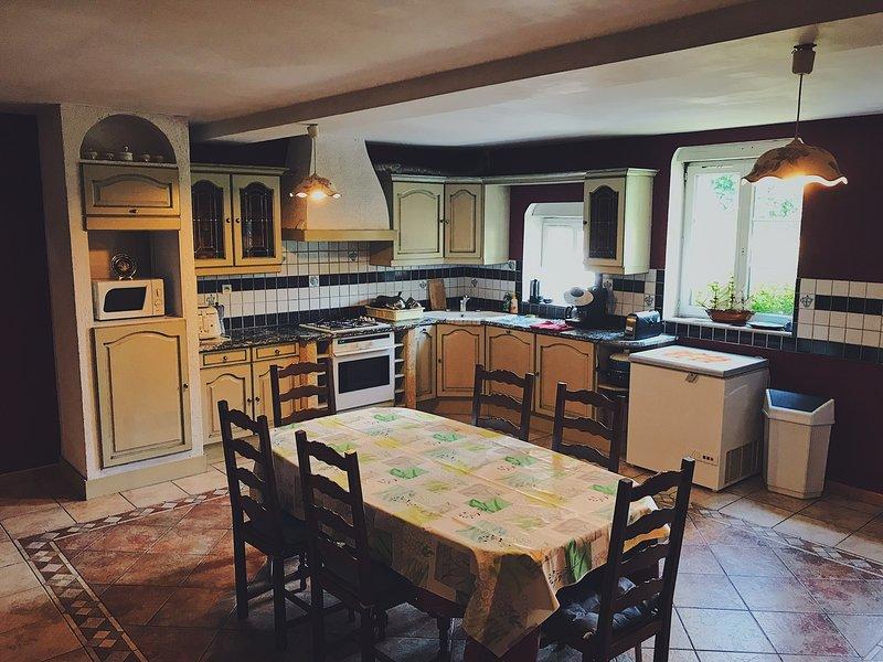 La cucina attrezzata come a casa!