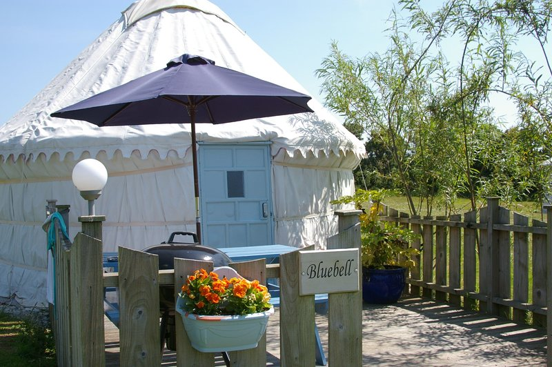 Bluebell Yurt, holiday rental in Goonhavern